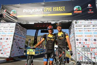 Becking and Novak won the Epic Israel stage race